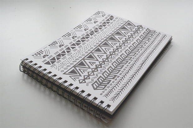 Aztec Print Drawings Aztec Pattern Drawn by Hand