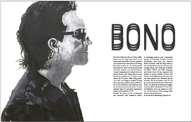 Helvetica Magazine Article Layout - Portfolio