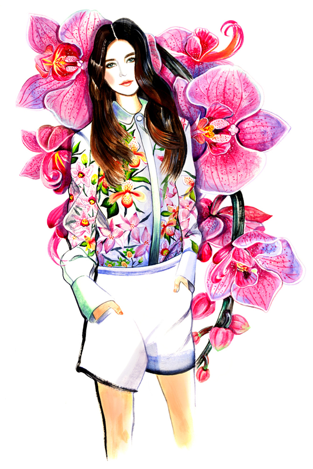 Beauty Illustration Sunny Gu